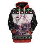Gearhumans Ugly Christmas Sandin Hoodie T-Shirts Apparel