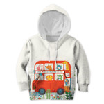 Gearhumans Amazing London Bus Tour Custom Hoodies T-shirt Apparel
