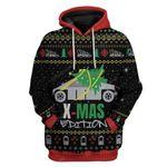 Gearhumans Ugly Cybertruck Christmas Edition Custom T-Shirts Hoodies Apparel