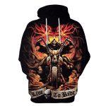 Gearhumans HALLOWEEN Skull Society Hoodies - T-Shirt Apparel