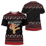 Gearhumans Ugly Christmas I'm The Ninjabread Man Hoodie T-Shirts Apparel