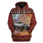 Gearhumans GearHuman 3D Space X Telsa Elon Musk Hoodie TShirt Apparel