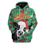 Gearhumans Ugly Moo-ry Christmas Custom T-shirt - Hoodies Apparel