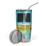 Gearhumans 3D The Mystery Machine Hippie Van Custom Design Vacuum Insulated Tumbler