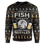 Gearhumans Ugly Fish And Beer Custom T-Shirts Hoodies Apparel