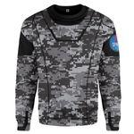 Gearhumans 3D Camo Space Crew Spacesuit Custom Sweatshirt Apparel