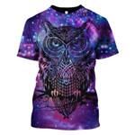 Gearhumans Owl Hoodies T-Shirt Apparel