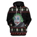 Gearhumans Ugly Albert Einstein Joker Custom T-shirt - Hoodies Apparel
