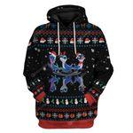 Gearhumans Ugly Christmas Bruni Dance T-Shirts Hoodie Apparel