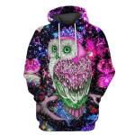 Gearhumans Owl Hoodies -T-Shirt Apparel
