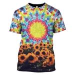 Gearhumans Sun Flower Hoodies - T-Shirt Apparel
