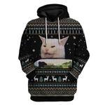 Gearhumans Ugly Moew Custom T-shirt - Hoodies Apparel