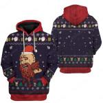 Gearhumans Ugly Christmas Bi*ch Please Hoodie T-Shirts Apparel