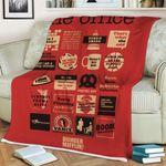 Gearhumans 3D The Office Custom Quilt Blanket