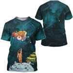 Gearhumans Lonely Christmas In Space Custom T-Shirts Hoodies Apparel