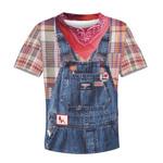 Gearhumans I love rednecks Kid Custom Hoodies T-shirt Apparel