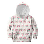 Gearhumans Cherub Owls Custom Hoodies T-shirt Apparel
