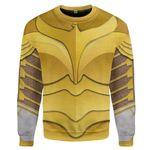 Gearhumans 3D Wonder Woman Custom Sweatshirt Apparel
