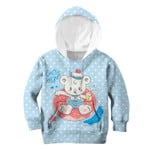 Gearhumans Bear enjoys the moment Kid Custom Hoodies T-shirt Apparel