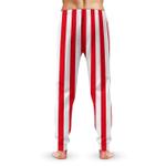 Gearhumans 3D Uncle Sam Cosplay Halloween Custom Sweatpants Apparel