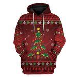 Gearhumans Ugly Christmas Tree Custom T-Shirts Hoodies Apparel