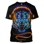 Gearhumans Tiger Earphone Hoodies - T-Shirts Apparel