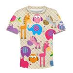 Gearhumans Animals In The Zoo Custom Hoodies T-shirt Apparel