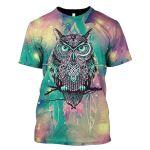 Gearhumans 3d Owl Hoodies - T-Shirt Apparel