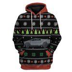 Gearhumans Ugly Merry Christmas Cybertruck Hoodie T-Shirts Apparel