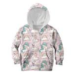 Gearhumans Unicorn In Cloud Custom Hoodies T-shirt Apparel