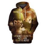 Gearhumans not always eye to eye but always heart to heart Hoodies - T-Shirts Apparel