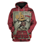 Gearhumans 3D Welcome To The Club House Of Dead Custom Hoodie Apparel