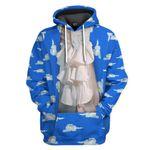 Gearhumans 3D Prince Cloud Suit Custom Hoodie Apparel