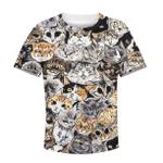 Gearhumans CUTE CATS Kid Custom Hoodies T-shirt Apparel