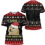 Gearhumans Ugly Christmas Dog Custom Sweater Apparel