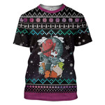 Gearhumans Ugly Kittens Custom T-shirt - Hoodies Apparel