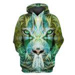 Gearhumans King Tiger Hoodies - T-Shirts Apparel