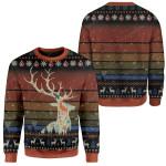Gearhumans Ugly Deer Custom T-shirt - Hoodies Apparel