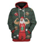 Gearhumans Ugly Christmas Do You Even Gift Hoodie T-Shirts Apparel