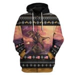 Gearhumans Ugly T-Rex Custom T-shirt - Hoodies Apparel