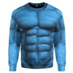 Gearhumans 3D Dr Manhattan Custom Sweatshirt Apparel