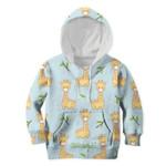 Gearhumans Friendly Giraffe Custom Hoodies T-shirt Apparel