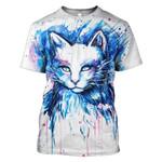 Gearhumans Wolf Hoodies - T-Shirts Apparel