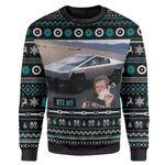 Gearhumans Ugly Cybertruck RTX On Off Custom Sweater Apparel