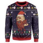 Gearhumans Ugly Christmas Bi*ch Please Sweater Apparel