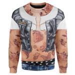 Gearhumans Ladies Tattoo Custom T-shirt - Hoodies Apparel