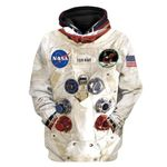 Gearhumans [50th Anniversary] 3D Custom Name Armstrong Spacesuit Apparel
