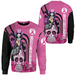 Gearhumans 3D Fight Like A Girl Breast Cancer Awareness Custom Tshirt Hoodie Apparel