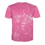 Gearhumans 3D In October We Wear Pink Breast Cancer Custom Bleached Shirt