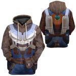 Gearhumans 3D Guardian Of The Galaxy Rocket Racoon Costume Custom Tshirt Hoodie Apparel